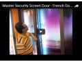 Master Security Screen Door